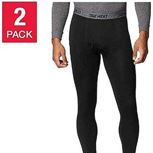32 Degrees Heat Base Layer Pants 2 Pack